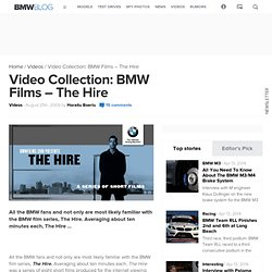 Video Collection: BMW Films - The Hire
