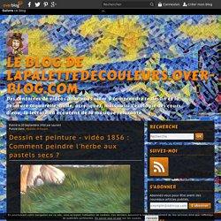 vidéo 1856 : Comment peindre l'herbe aux pastels secs ?