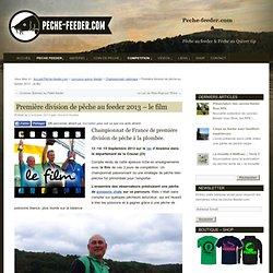 Vidéo pêche au coup de compétition - D1 Plombée 2013