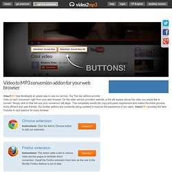 Free YouTube to MP3 Converter - Firefox Addon