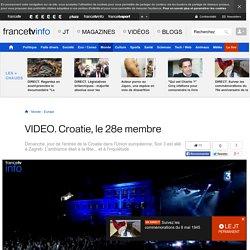 Croatie, le 28e membre