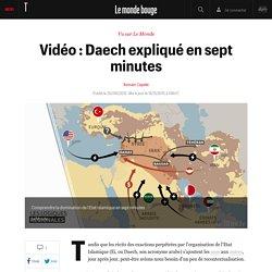 Vidéo : Daech expliqué en sept minutes - En bref