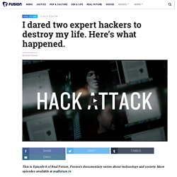 Video: I Dared Two Elite Hackers to Ruin My Life