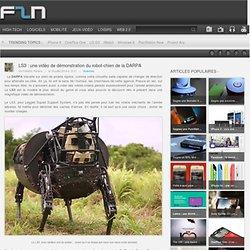 LS3 : une vidéo de démonstration du robot-chien de la DARPA
