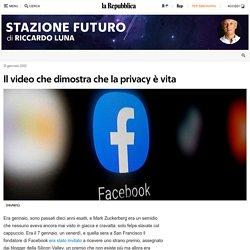 Il video che dimostra che la privacy è vita