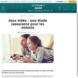 Jeux vidéo : une étude rassurante pour les enfants