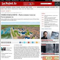VIDÉO EXCLUSIVE - Paris comme vous ne l'avez jamais vu