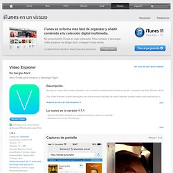 Video Explorer para iPhone, iPod touch y iPad en el App Store de iTunes