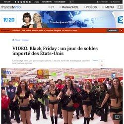Black Friday : un jour de soldes importé des États-Unis