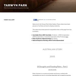 Video Gallery – Tarwyn Park