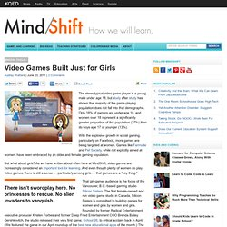 Video Games Built Just for Girls