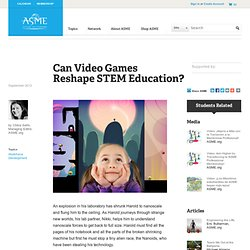 Video Games and STEM