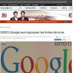 Google veut repousser les limites de l'espèce humaine