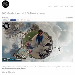 360-Grad-Video mit 6 GoPro-Kameras - Jonas Ginter