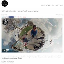 360-Grad-Video mit 6 GoPro-Kameras - Jonas Ginter