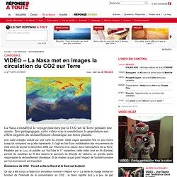 VIDÉO – La Nasa met en images la circulation du CO2 sur Terre