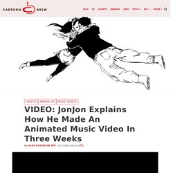 VIDEO: JonJon Explains How He Made An Animated Music Video In Three Weeks