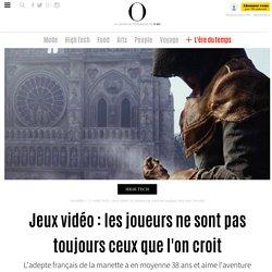 Jeux vidéo : les joueurs ne sont pas toujours ceux que l'on croit - 24 juin 2014