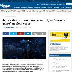 """Jeux vidéo : sur un marché saturé, les """"serious game"""" en plein essor"""