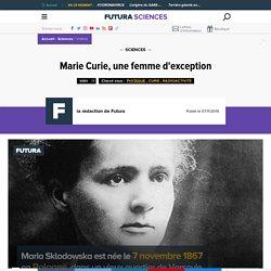 Marie Curie, une femme d'exception, court résumé