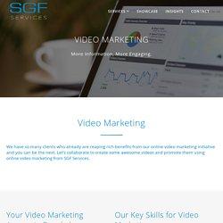 Video Marketing - SGF Services