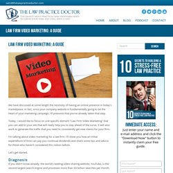 Law Firm Video Marketing: A Simple Guide For Lawyers