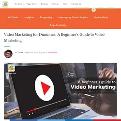Video Marketing Strategy Guide & What is Video Marketing?