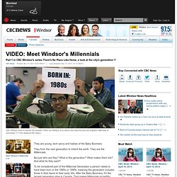 VIDEO: Meet Windsor's Millennials - Windsor