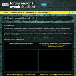 Conférence – Les métiers du droit « FORUM POST-BAC ACADEMIE DE REIMS