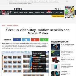 Crea un vídeo stop-motion sencillo con Movie Maker
