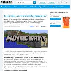 Le jeu vidéo : un nouvel outil pédagogique ?