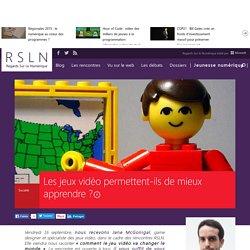 REGARDS SUR LE NUMERIQUE: Blog - Les jeux vidéo permettent-ils de mieux apprendre ? RSLNmag est édité par Microsoft et se consacre à l'analyse et au décryptage du monde numérique..