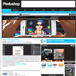 Video – Photoshop et le texte