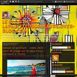 vidéo 2015 : Jeux de plage sur la côte-d'azur - peinture à l'huile.