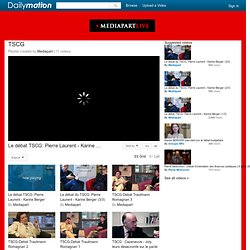 TSCG - Une playlist sur Dailymotion