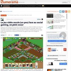 Le jeu vidéo recule (un peu) face au social gaming, en plein essor - Numerama