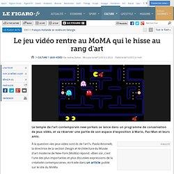 Le jeu vidéo rentre au MoMA qui le hisse au rang d'art