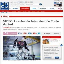 VIDEO. Le robot du futur vient de Corée du Sud