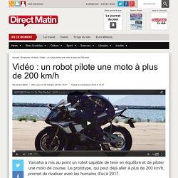 Vidéo : un robot pilote une moto à plus de 200 km/h