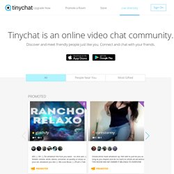 Tinychat - Free Chat Rooms & audio video conference