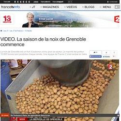 La saison de la noix de Grenoble commence