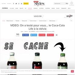 VIDEO. On a testé pour vous... le Coca-Cola Life à la stévia