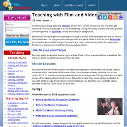 Video Teaching and Video Films. ESL Teaching Videos