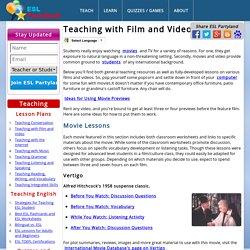 Video Teaching and Video Films. ESL Teaching Videos
