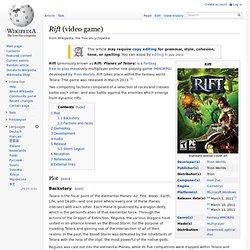 Rift (video game)