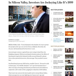 In Silicon Valley, Investors Are Jockeying Like It's 1999