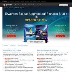 Software zur Videobearbeitung – Upgrade von Pinnacle Studio – Die meistverkaufte digitale Videobearbeitungssoftware