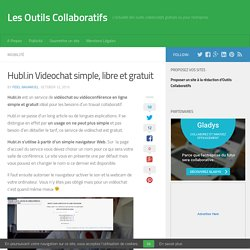 Hubl.in Videochat simple, libre et gratuit