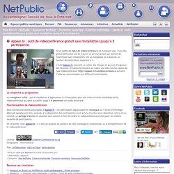Appear.in : outil de vidéoconférence gratuit sans installation (jusqu'à 8 participants)