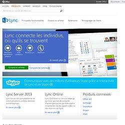 Lync – vidéoconférence et messagerie instantanée